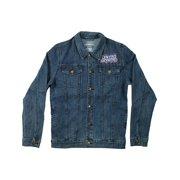 8bec5596002f8 Lynyrd Skynyrd Men s Biker Patch Denim Jacket Denim Jacket Denim
