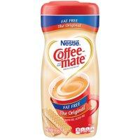 (3 pack) Nestle Coffeemate Fat Free Original Powder Coffee Creamer 16 oz. Canister