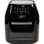 6 QT Power Air Fryer Oven Plus- 7 in 1 Cooking Features with Professional Dehydrator and Rotisserie 1700 Watts