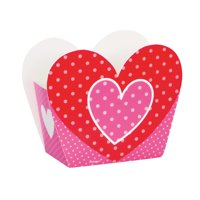 Heart Valentine's Day Favor Boxes, 8ct
