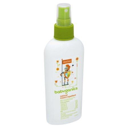 Baby Bug Repellent - Babyganics Natural Insect Repellent, 6oz