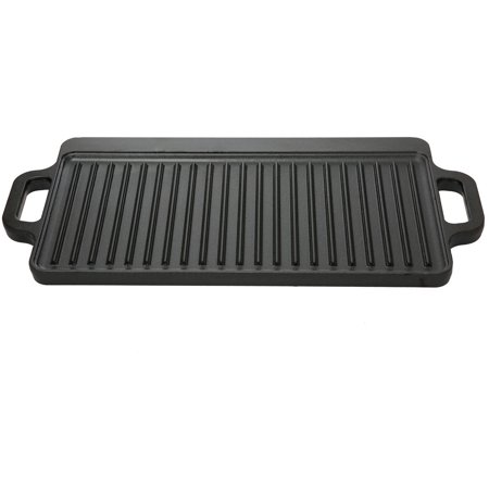 Ozark Trail Small Cast Iron Griddle (reversible) (Foldaway Griddle)