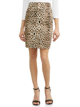 Claudia Animal Print Pencil Skirt Women's