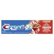 Crest Plus Complete Whitening Fluoride Toothpaste, Cinnamon Rush, 6 oz