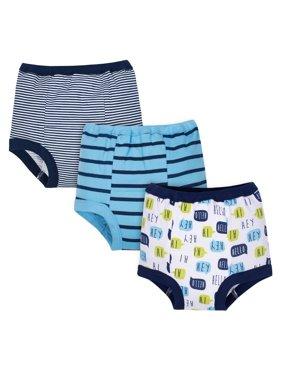 Organic Cotton Reusable Training Pants, 3-pack (Toddler Boys)