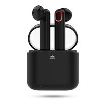 Bluetooth Wireless Stereo Earbuds Headphones, Noise Cancelling with Built-in Mic and Charging Case, Hands-free Calling Sweatproof In-Ear Headset Earphone Earpiece for iPhone/Android Smart Phones