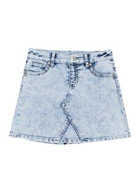 Denim Skirt (Little Girls, Big Girls & Big Girls Plus)