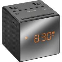 Sony ICFC1T Dual Alarm Clock Radio, Black