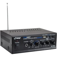 Pyle PTA22BT Mini-Blue Series Bluetooth Stereo Amplifier