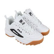 c30157dcf96 Fila Disruptor Ii Mens White Synthetic Low Top Lace Up Sneakers Shoes