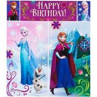 Disney Frozen Birthday Party Scene Setters Wall Decorating Kit, 5pc
