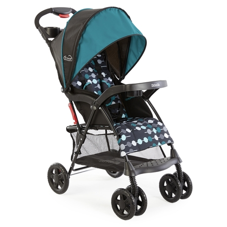 Kolcraft Cloud Sport Lightweight Stroller, Teal