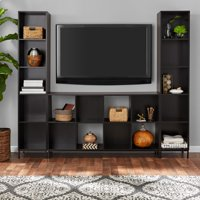 Mainstays Cube Storage Home TV Entertainment Center, Espresso