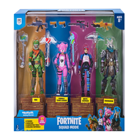 Toy Astronaut Figures (Fortnite Squad Mode 4 Figure)