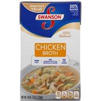 (2 Pack) SwansonChicken Broth, 48 oz. Carton