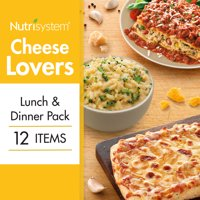 Nutrisystem Cheese Lovers Lunch & Dinner Pack, 12 Ct