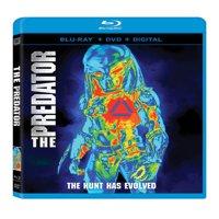 The Predator (2018) (Blu-ray + DVD + Digital Copy)