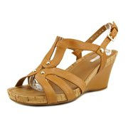 40a56a3a264 Geox D Roxy Pelle Open Toe Leather Wedge Heel