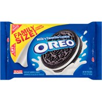 (2 Pack) Oreo Cookies, Family Size, 19.1 Oz