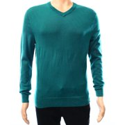 0e822d03cf01 Club Room NEW Green Mens Size XL V-Neck Pullover Wool Knit Sweater