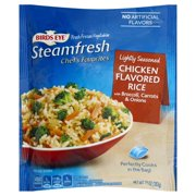 Pinnacle Foods Birds Eye Steamfresh Chef's Favorites Chicken Flavored Rice, 10 oz