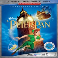 Peter Pan (Anniversary Edition) (Blu-ray + DVD + Digital Code)
