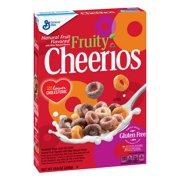 Fruity Cheerios, Gluten Free, Breakfast Cereal, 10.6 oz Box