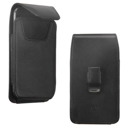 Flip Vertical Pouch (Insten Universal Vertical Pouch Flip Belt Clip PU Leather Wallet Case Bag For Mobile Phones)