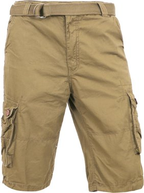 Men's Premium Cargo Shorts with Belt