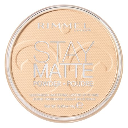 Yellow Sheer Finish Pressed Powder (Rimmel Stay Matte Pressed Powder,)