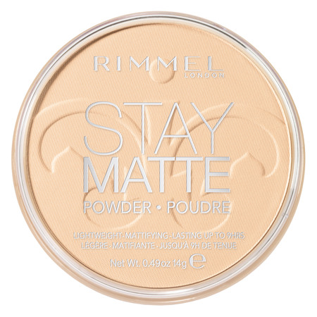 Rimmel Stay Matte Pressed Powder, Transparent - Making Halloween Makeup Stay
