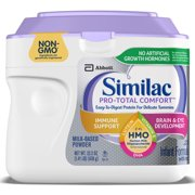 Similac Pro-Total Comfort Non-GMO with 2'-FL HMO Infant Formula with Iron Baby Formula 22.5 oz Tub
