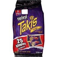 Mini Takis Fuego Snack Packs, 25 ct