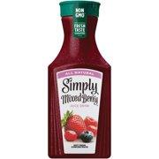 Simply Mixed Berry Fruit Juice, 52 fl oz