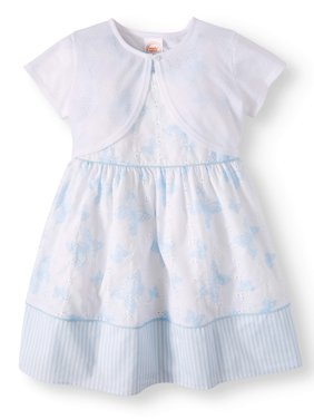 Special Occasion Dress with Shrug (Toddler Girls)