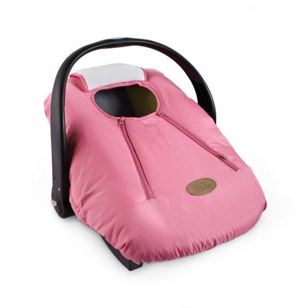 Cozy Cover Infant Carrier Cover, Pink (Cheetah Baby Car Seat Covers)