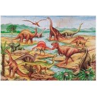 Melissa & Doug Dinosaurs Jumbo Jigsaw Floor Puzzle, 48pc, 2 x 3'