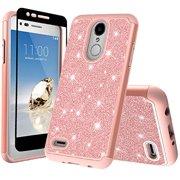 LG Stylo 4 LG Stylo 4 Plus Case Cover w   Temper Glass Screen f4ab23884f1d