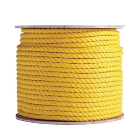 600 Foot Yellow Poly Rope (Boen Yellow Poly Rope  1/2