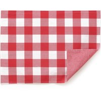The Pioneer Woman Charming Check Reversible Placemat, Red