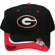 a9323bd8399 NCAA Georgia Bulldogs One-Fit Adjustable Velcro Hat Cap