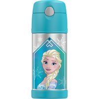 GENUINE THERMOS BRAND FUNTAINER Vacuum Insulated Straw Bottle, 12-Ounce, Frozen