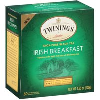 Twinings Of London Irish Breakfast Black Tea - 50 CT