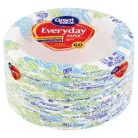 Great Value Everyday Paper Bowls, 10 oz, 60 Count
