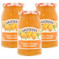 (3 Pack) Smucker's Sweet Orange Marmalade, 18-Ounce