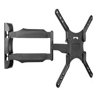 "Kanto Full Motion Wall Mount for 26"" to 55"" Displays, Black"