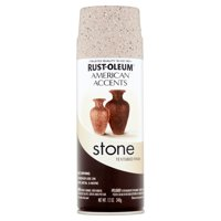 Rust-Oleum American Accents Stone Pebble Textured Finish Spray Paint, 12 oz