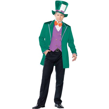 Mad Tea Party Host Men's Adult Halloween Costume](Halloween Scary Costumes Party City)