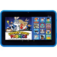 """HighQ Learning Tab 7"""" Kids Tablet 16GB Intel Atom Processor Preloaded with Learning Apps & Games Blue"""