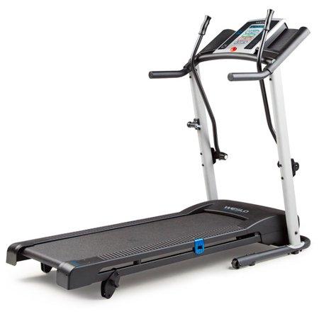 Weslo Crosswalk 5.2t Folding SpaceSaver Total Body Workout Treadmill